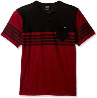 Zoo York Men's Short Sleeve Henley Shirt
