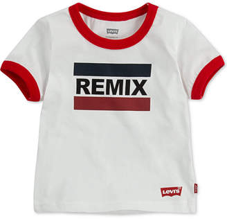 Levi's Daddy & Me Collection Baby Boys Remix Graphic Cotton T-Shirt