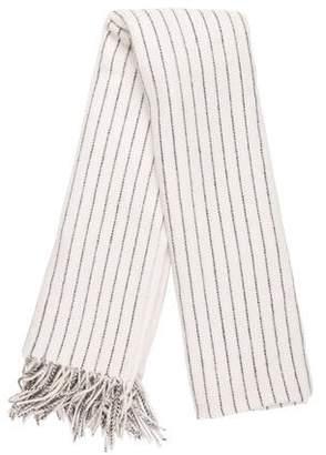 Rag & Bone Merino Wool Stripe Shawl