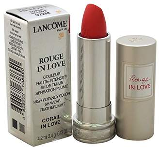 Lancôme Rouge In Love High Potency Color Lipstick, 322M Corail In Love, 0.12 Ounce