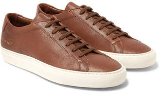 Common Projects Original Achilles Full-grain Leather Sneakers - Brown