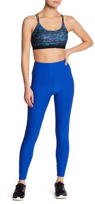 Bally Total Fitness Lace It Ankle Leggings