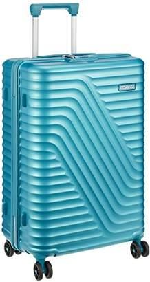 American Tourister (アメリカン ツーリスター) - [アメリカンツーリスター] スーツケース HIGH RICK ハイロック スピナー67 無料預入受託サイズ 保証付 62L 66cm 3.3kg DM1*71002 71 ラグーンブルー