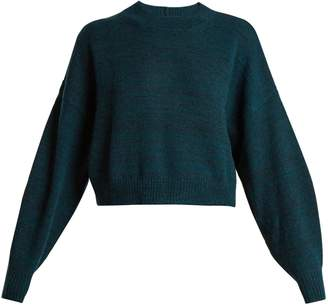 Etoile Isabel Marant Rodd cropped alpaca-blend sweater
