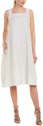 Max Mara Linen-Blend A-Line Dress