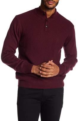 Perry Ellis Basketweave Knit Pullover