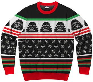 Star Wars Mad Engine Men's Disney Darth Vader Ugly Sweater Christmas Sweatshirt