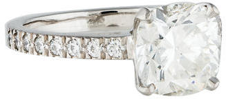 Tiffany & Co. 2.03 CT Tiffany Novo Engagement Ring $24,750 thestylecure.com
