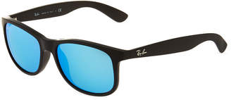 Ray-Ban Andy Youngster Square Plastic Sunglasses