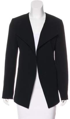 Lanvin Structured Open Front Jacket