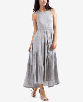 Lucky Brand Pleated Maxi Dress