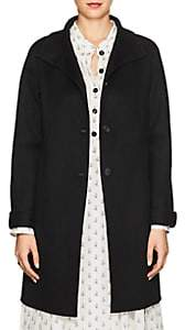 Xo Barneys Colombo Women's Double-Faced Cashmere Melton Coat - Black