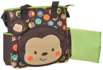 "Baby Boom Babyboom ""Monkey Circles"" Diaper Tote Bag"