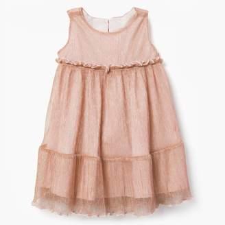 Gymboree Metallic Tiered Dress