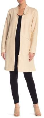 14th & Union Cocoon Open Front Coat