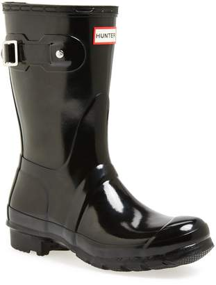 Hunter Short Gloss Waterproof Rain Boot