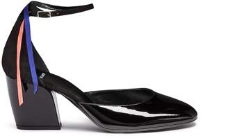 Pierre Hardy 'Cherie' fringe ankle strap leather d'Orsay pumps
