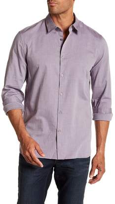 John Varvatos Woven Trim Fit Shirt