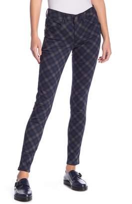 Democracy Plaid Side Zipper Pants