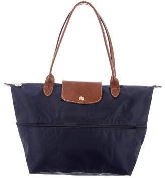 Longchamp Nylon Weekender Bag