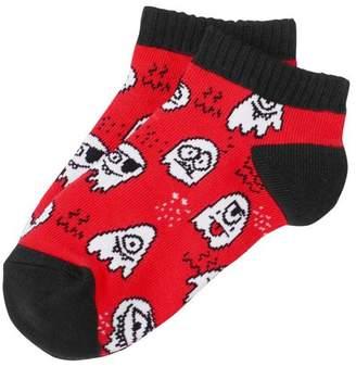 Gymboree Ghost Ankle Socks