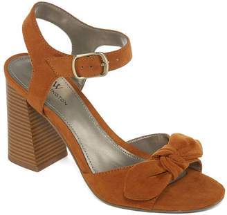 WORTHINGTON Worthington Bracken Womens Heeled Sandals