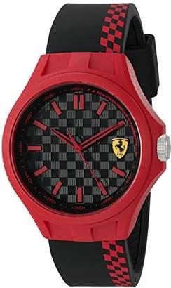 Ferrari Men's Quartz Multi Color Casual Watch (Model: 0830327)