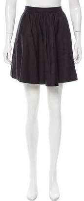By Malene Birger Linen-Blend Mini Skirt