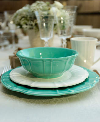 Chloé Euroceramica Turquoise Dinnerware Collection