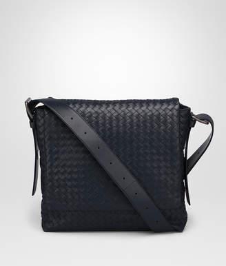 Bottega Veneta PRUSSE INTRECCIATO CALF MESSENGER BAG