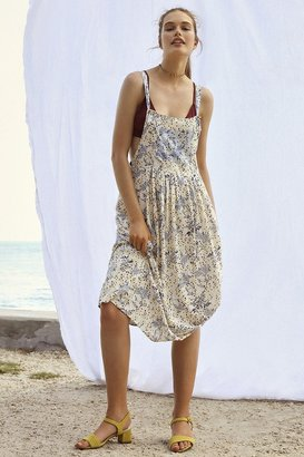 Kimchi Blue Annie Overall Midi Dress $79 thestylecure.com