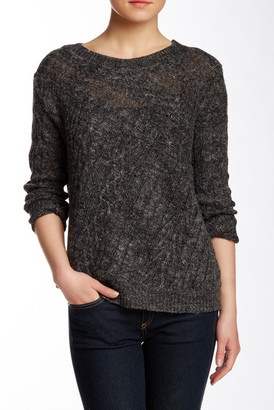 Inhabit Crew Neck Linen Blend Sweater