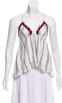 Townsen Sleeveless Embroidered Top