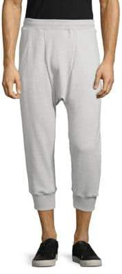 Drifter Cropped Cotton Jogger Pants