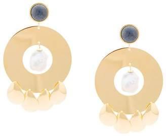 Lizzie Fortunato Golden Hour circle earrings