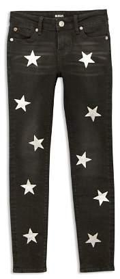 Hudson Girls' Jolene Star-Print Skinny Jeans - Big Kid