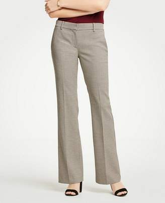 Ann Taylor The Petite Madison Trouser In Check - Curvy Fit