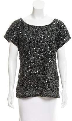 Antik Batik Sequin Scoop Neck Top