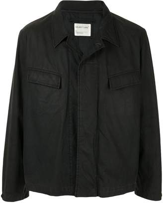 Helmut Lang Pre-Owned 1998 coated shirt jacket