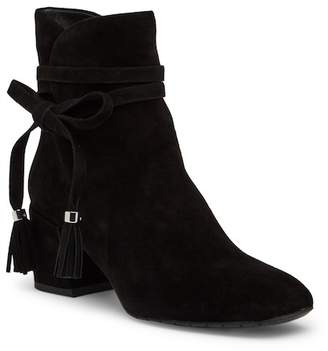 Kenneth Cole New York Estella Side Tie Suede Bootie