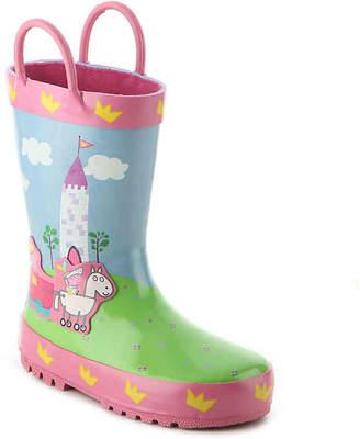 Peppa Pig Castle Toddler Rain Boot - Girl's
