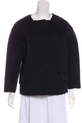 Oscar de la Renta Structured Snap Jacket