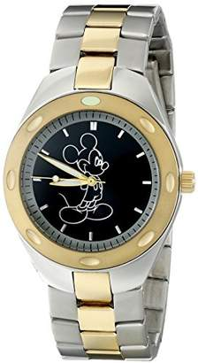 Disney Men's W001899 Mickey Mouse Analog Display Analog Quartz Watch