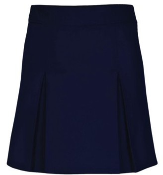 Real School Girls Plus Pleat Front Scooter Skirt School Uniform Approved (Big Girls)