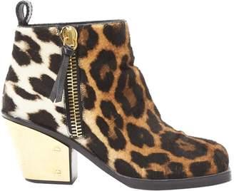 Giuseppe Zanotti Pony-style calfskin ankle boots