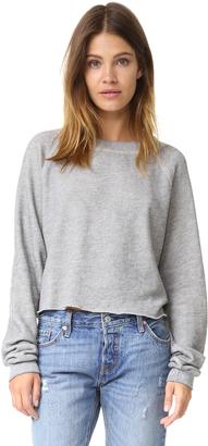 Wildfox Monte Crop Sweatshirt $88 thestylecure.com
