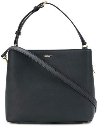 Donna Karan mini bucket shoulder bag