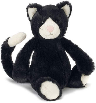 Jellycat Bashful Black and White Kitten Medium