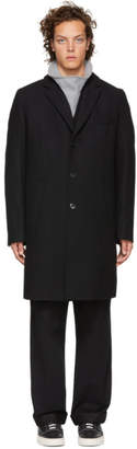 HUGO Navy Malte 1841 Coat