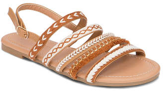 OLIVIA MILLER Ocoee Multi Boho Strap Buckle Strap Sandals Women's Shoes